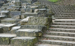 Pedras e escada fotos de stock royalty free