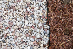 Pedras e grama, fundo Foto de Stock Royalty Free