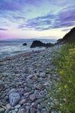 Pedras e litoral imagens de stock