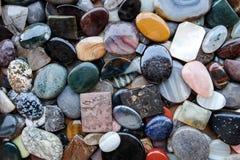 Pedras e minerais foto de stock