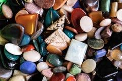 Pedras e minerais imagens de stock