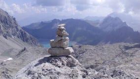 Pedras e montanhas Foto de Stock Royalty Free