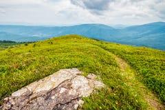 Pedras e pedregulhos na cordilheira Carpathian Imagens de Stock Royalty Free