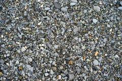 Pedras em uma praia fotografia de stock