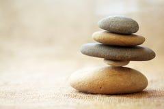 Pedras empilhadas Foto de Stock