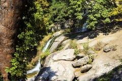 Pedras enormes no parque Fotos de Stock Royalty Free