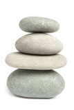 Pedras equilibradas foto de stock