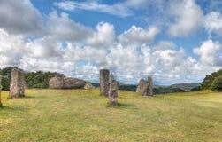 Pedras eretas Fotografia de Stock