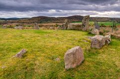 Pedras eretas de Tomnaverie Fotos de Stock Royalty Free