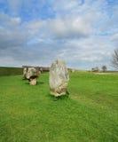 Pedras eretas em Avebury Imagem de Stock Royalty Free