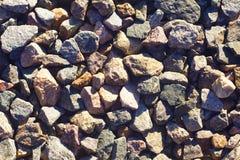 Pedras esmagadas Foto de Stock Royalty Free