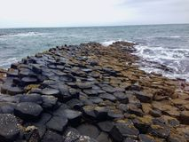 Pedras gigantes da calçada do ` s Imagem de Stock