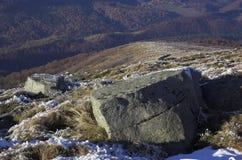 Pedras grandes fotografia de stock