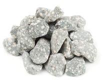 Pedras minerais usadas em sistemas purifying da água Imagem de Stock Royalty Free