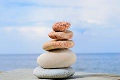 Pedras mornas Imagens de Stock