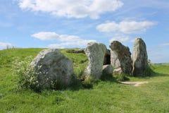 Pedras na entrada ao carrinho de mão longo ocidental de Kennet Imagem de Stock Royalty Free