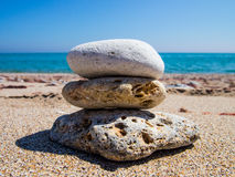 Pedras na pedra foto de stock royalty free