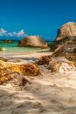 Pedras na praia Imagens de Stock Royalty Free