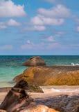 Pedras na praia Imagem de Stock Royalty Free