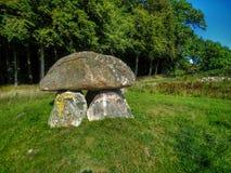 Pedras Neolíticos em Dinamarca Foto de Stock