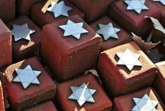 102 000 pedras no acampamento do trânsito de Westerbork Imagem de Stock