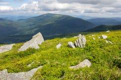 Pedras no montanhês Fotografia de Stock Royalty Free