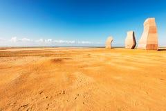 Pedras no parque nacional Ras Mohammed Fotos de Stock Royalty Free