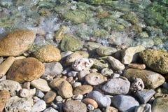 Pedras no seashore Fotografia de Stock Royalty Free