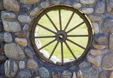 Pedras ocidentais da roda do projeto da paisagem Fotos de Stock Royalty Free