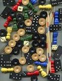 Pedras para jogos diferentes Imagem de Stock Royalty Free