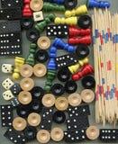 Pedras para jogos diferentes Fotografia de Stock