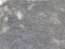pedras pequenas cinzentas pequenas com sombras imagens de stock royalty free