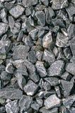 Pedras pequenas do granito para a textura cinzenta Foto de Stock