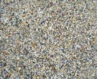 Pedras pequenas na parede, fundo imagem de stock