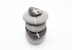 Pedras Poised foto de stock
