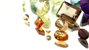 Pedras preciosas Fotografia de Stock