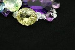 Pedras preciosas foto de stock