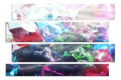 Pedras preciosas Art With Gems & nuvens de alta qualidade imagem de stock