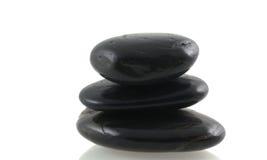 Pedras pretas. Imagens de Stock Royalty Free