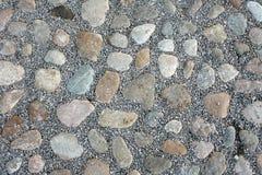 Pedras redondas Foto de Stock