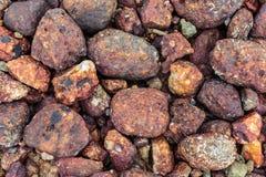 Pedras redondas do mar Imagens de Stock Royalty Free