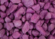 Pedras roxas Fotos de Stock Royalty Free