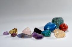 Pedras semipreciosas brilhantes Foto de Stock