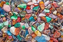 Pedras semipreciosas naturais Fotografia de Stock Royalty Free