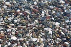 Pedras subaquáticas Imagem de Stock Royalty Free
