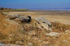 Pedras velhas da areia Fotos de Stock