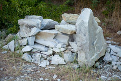 Pedras velhas Rochas Imagem de Stock