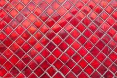 Pedras vermelhas arranjadas imagem de stock