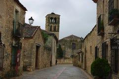 Pedraza μεσαιωνικό χωριό, Ισπανία στοκ εικόνες