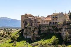 Pedraza, Castilla Y León, España: casas del pueblo de Pedraza de Mirador el Tungueras imágenes de archivo libres de regalías